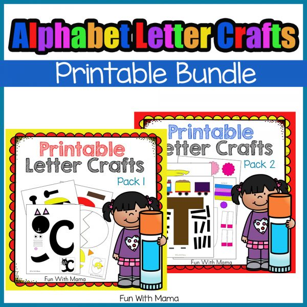 Alphabet Letter Crafts Bundle