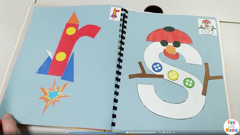 Printable Alphabet Letter Crafts Pack 2