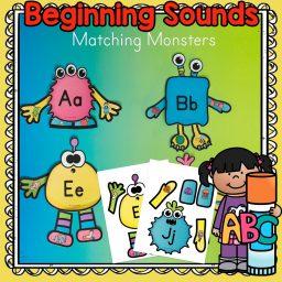 beginning sounds matching