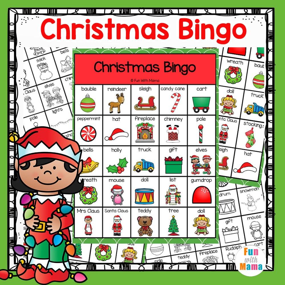 Christmas Bingo.Christmas Bingo Game